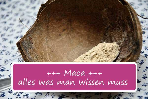 Alles, was man über Maca wissen muss