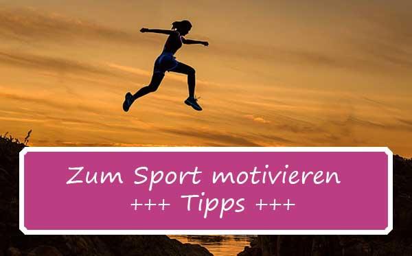Tipps sich zum Sport zu motivieren