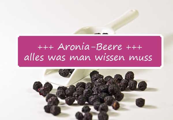 Alles, was man über die Aronia-Beere wissen muss