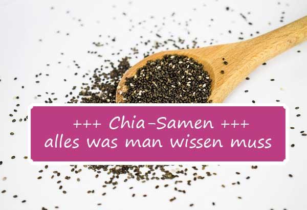 Alles, was man über Chia-Samen wissen muss