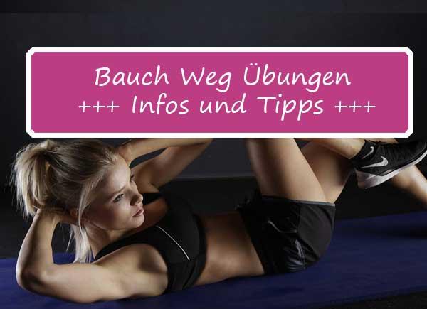 Effektive Bauchweg-Übungen